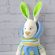 Куклы и игрушки ручной работы. Ярмарка Мастеров - ручная работа Зайка Патси. Handmade.
