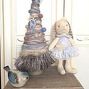 Подарки к праздникам ручной работы. Ярмарка Мастеров - ручная работа елка новогодняя. Handmade.