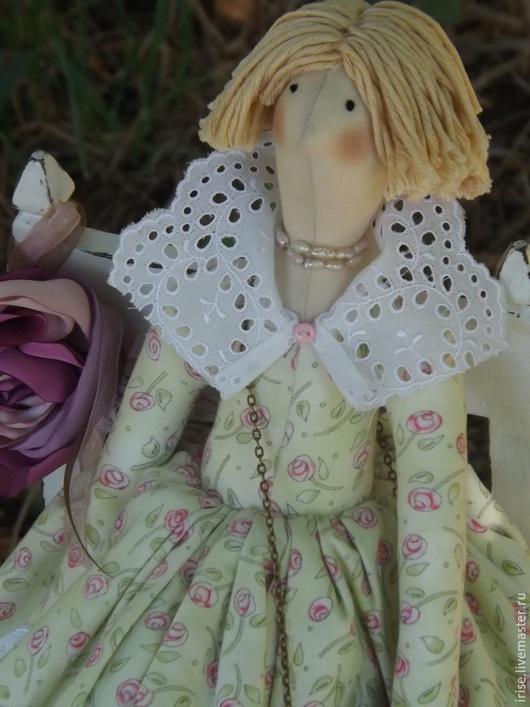 Куклы Тильды ручной работы. Ярмарка Мастеров - ручная работа. Купить Кукла-Тильда Салатовое настроение. Handmade. Кукла Тильда