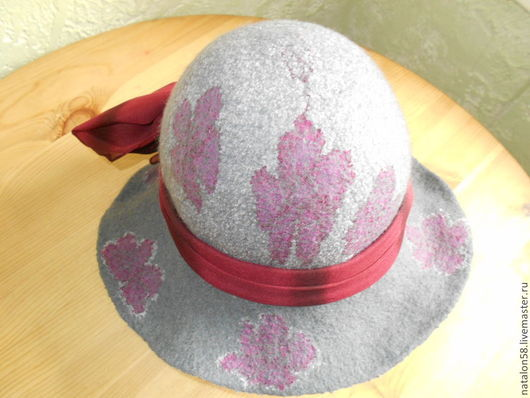Шляпы ручной работы. Ярмарка Мастеров - ручная работа. Купить Модель № 20.ЛюбимаЯ. Handmade. Темно-серый, эксклюзивная