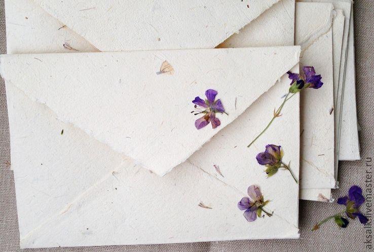 """""""Philadelphia"""" handmade envelope, Line, Moscow,  Фото №1"""