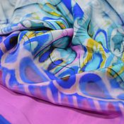 Материалы для творчества ручной работы. Ярмарка Мастеров - ручная работа Итальянский натуральный шелк. Handmade.