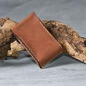 Сумки и аксессуары handmade. Livemaster - original item Leather cigarette case. Handmade.