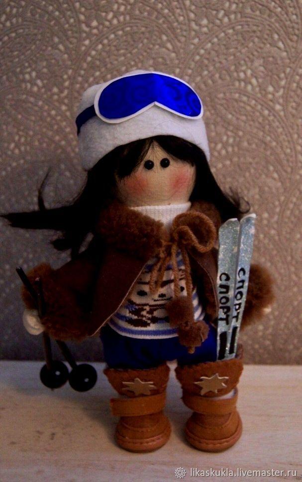 лыжница, Куклы Тильда, Санкт-Петербург,  Фото №1