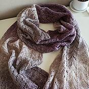 Аксессуары handmade. Livemaster - original item Knitted scarf stole openwork. Handmade.