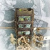 Для дома и интерьера handmade. Livemaster - original item mini dresser Nezabudka. Handmade.