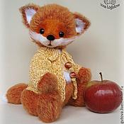 Куклы и игрушки ручной работы. Ярмарка Мастеров - ручная работа Лисенок Роберт - вязаная игрушка. Handmade.