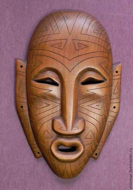 """Интерьерные  маски ручной работы. Ярмарка Мастеров - ручная работа. Купить Лик-маска """"Страж безмолвия"""" Сытам-Торум-Нёр (1). Handmade."""