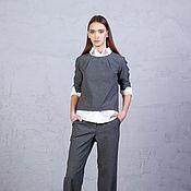 Одежда ручной работы. Ярмарка Мастеров - ручная работа Блузон и брюки. Handmade.