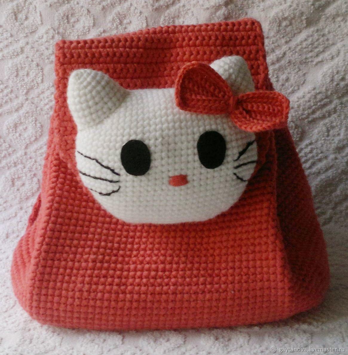 """Детский рюкзак """"Hello Kitty"""", Рюкзаки, Щелково,  Фото №1"""