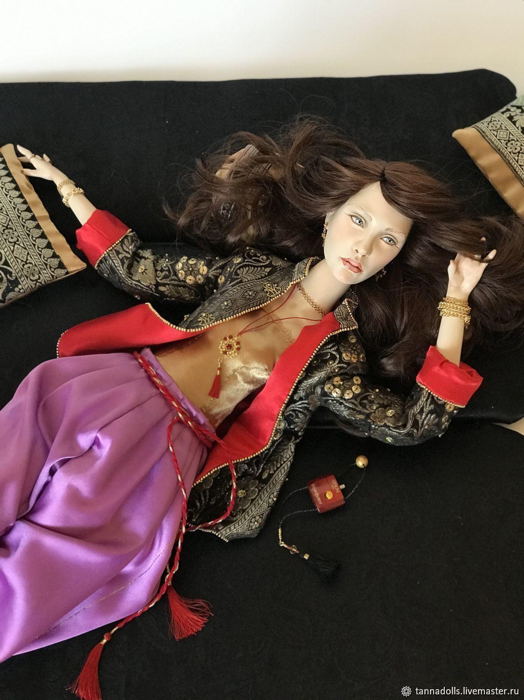 OPIUM. 72 см. Коллекционная интерьерная будуарная кукла, Куклы и пупсы, Москва,  Фото №1