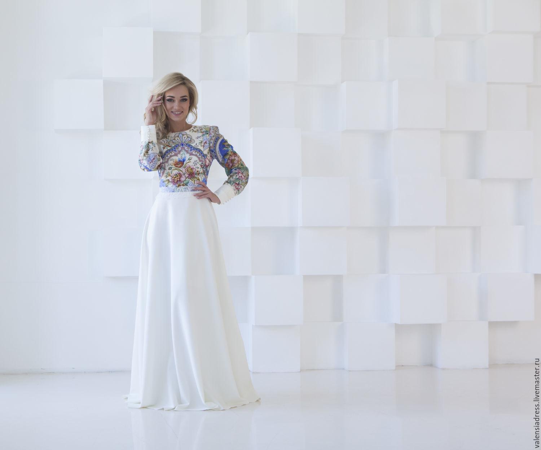 Dress white to the floor 'joy', Dresses, St. Petersburg,  Фото №1