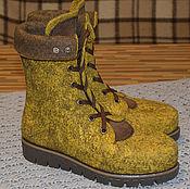 Обувь ручной работы handmade. Livemaster - original item Women`s felted boots