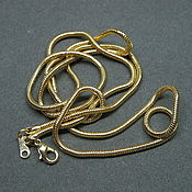 Винтаж handmade. Livemaster - original item long chain. Handmade.