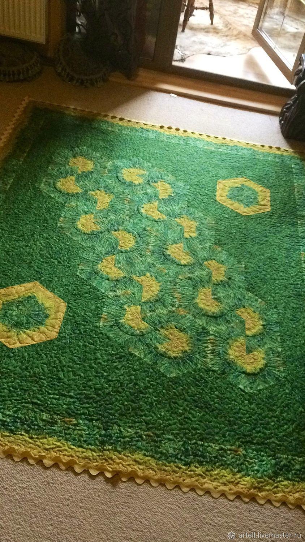 """Текстиль, ковры ручной работы. Ярмарка Мастеров - ручная работа. Купить Коллекционное покрывало """"Из-под кисти Ван Гога"""". Handmade."""