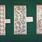 Аксессуары ручной работы. Ярмарка Мастеров - ручная работа Перфокарты для вязальных машин на 24 иглы. Handmade.