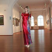 Платье батик Мотивы