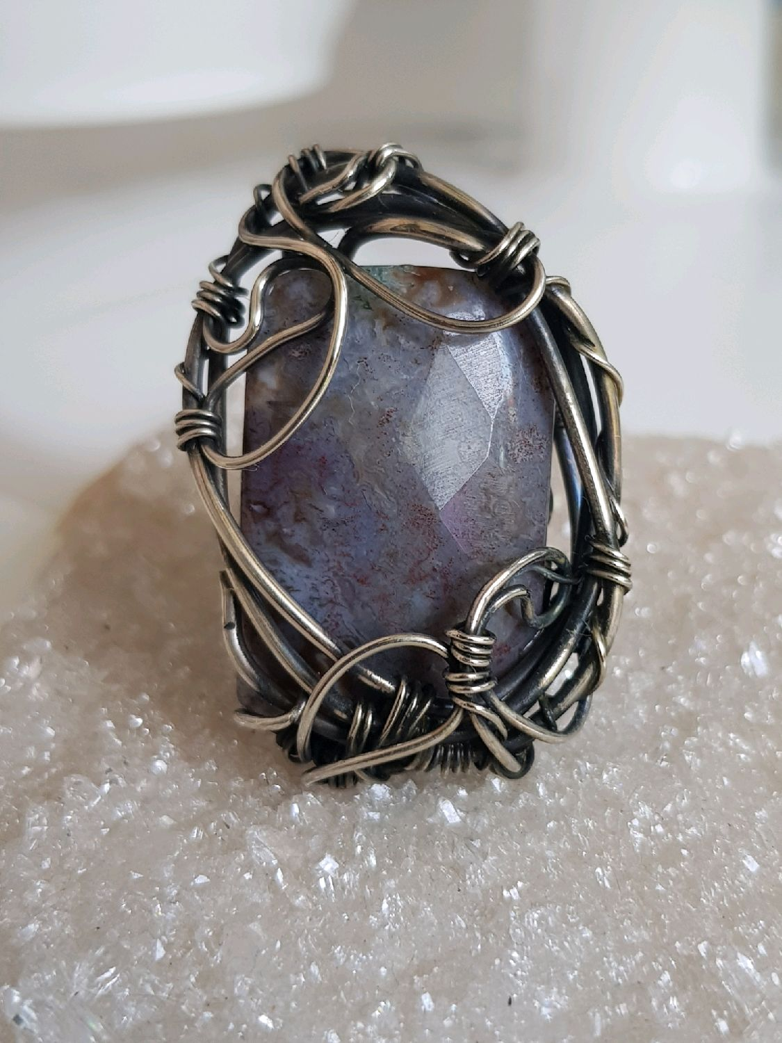 Ring with agate, Rings, Voronezh,  Фото №1