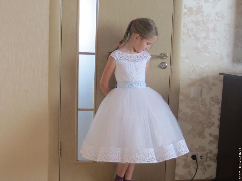 Как сшить пышное платье для девочки