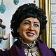 Портретные куклы ручной работы. Портретная кукла на юбилей (рост 1 м). Авторская студия 'OleLoo'. Интернет-магазин Ярмарка Мастеров.