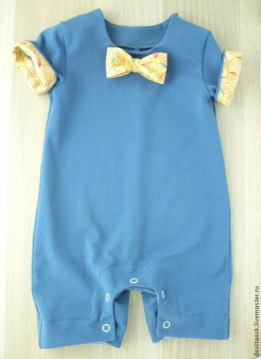 Одежда для мальчиков, ручной работы. Ярмарка Мастеров - ручная работа. Купить Боди полукомбинезон для мальчика. Handmade. Боди, полукомбинезон мальчику