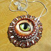 Фен-шуй и эзотерика ручной работы. Ярмарка Мастеров - ручная работа Амулет глаз на деньги. Handmade.