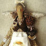 Куклы и игрушки ручной работы. Ярмарка Мастеров - ручная работа Кофейка Рафаэлла (кофейная фея Тильда). Handmade.
