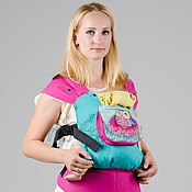 """Одежда ручной работы. Ярмарка Мастеров - ручная работа Эргономичный рюкзак """"Совушка-балерина"""". Handmade."""
