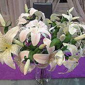 Цветы и флористика ручной работы. Ярмарка Мастеров - ручная работа Лилия из фоамирана. Handmade.