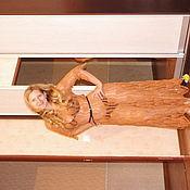 """Одежда ручной работы. Ярмарка Мастеров - ручная работа платье из хлопка """"ананасы"""". Handmade."""