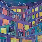 Картины и панно ручной работы. Ярмарка Мастеров - ручная работа Свет моего окна. Handmade.