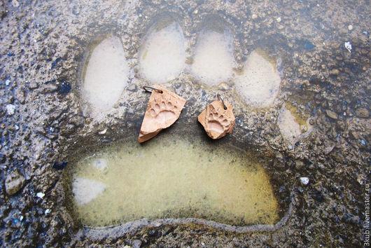 Медвежья лапа - отпечаток с когтями. Стоимость указана за одно изделие.