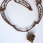 """Украшения handmade. Livemaster - original item Necklace """"Smoky quartz"""". Handmade."""
