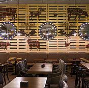 Декор ручной работы. Ярмарка Мастеров - ручная работа Роспись стен в кафе. Handmade.