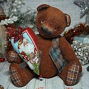 Куклы и игрушки handmade. Livemaster - original item OOAK artist teddy bear - gift Christmas. Handmade.