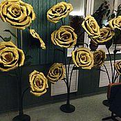 Свадебный салон ручной работы. Ярмарка Мастеров - ручная работа Гигантские розовые кусты. Handmade.