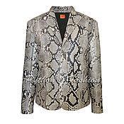 Одежда handmade. Livemaster - original item Men`s jacket made from Python MANHATTAN. Handmade.