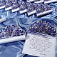 Свадебные аксессуары ручной работы. Ярмарка Мастеров - ручная работа. Купить Приглашение Свиток-веер. Handmade. Свадебное приглашение, свадьба