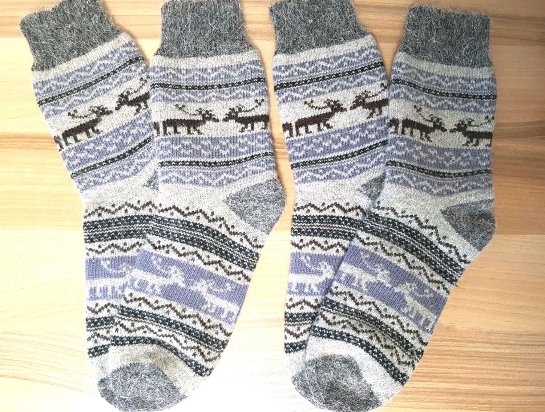 Socks knitted Warm wool socks Wool socks Winter socks, Socks, Volgograd,  Фото №1