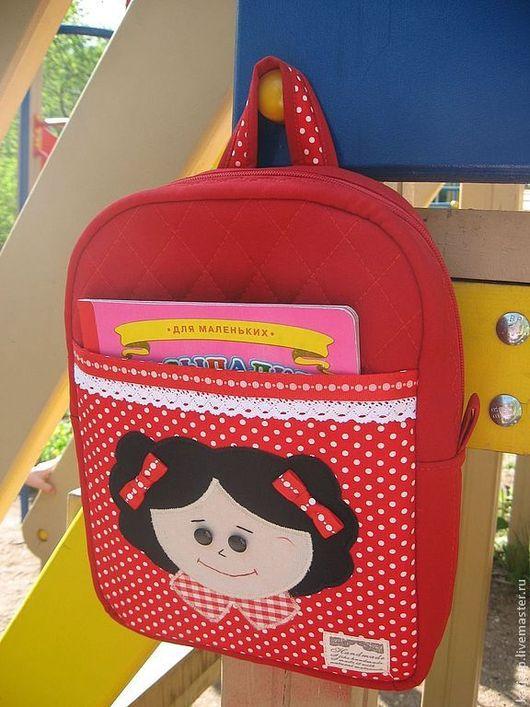 """Рюкзаки ручной работы. Ярмарка Мастеров - ручная работа. Купить Детский рюкзачок """"Жила-была девочка..."""". Handmade. рюкзачок"""