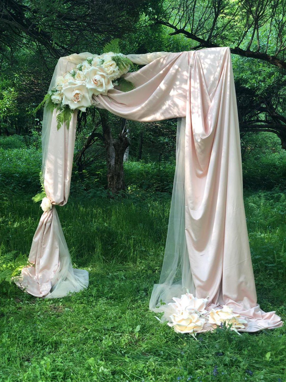 Свадебные цветы ручной работы. Ярмарка Мастеров - ручная работа. Купить Арка для фотосессии. Handmade. Свадьба, романтичная арка