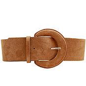 Аксессуары handmade. Livemaster - original item Copy of Copy of Copy of Copy of Copy of Beige suede belt. Handmade.