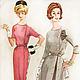 Платье в стиле 50-х  №1010110. Платья. Анна-Лиза (Мода вне времени ТМ). Ярмарка Мастеров. Фото №5