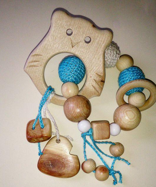 Развивающие игрушки ручной работы. Ярмарка Мастеров - ручная работа. Купить Грызунок. Handmade. Можжевеловый грызунок, слингобусы, прорезыватель для зубов