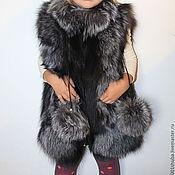 Работы для детей, handmade. Livemaster - original item Vest of Fox kids. Handmade.