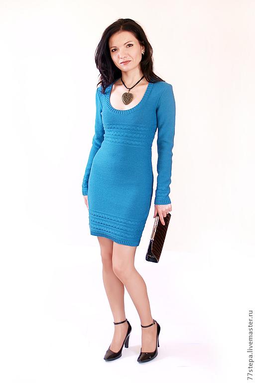 Платья ручной работы. Ярмарка Мастеров - ручная работа. Купить Платье вязаное 4472. Handmade. Платье, платье коктейльное