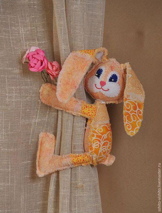 Куклы и игрушки ручной работы. Ярмарка Мастеров - ручная работа. Купить Набор для шитья игрушки Пасхальный кролик. Handmade. Желтый