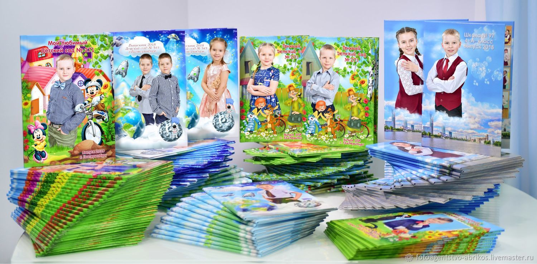 Изготовление выпускных альбомов для детского сада и школы, Услуги, Екатеринбург, Фото №1