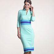 Одежда ручной работы. Ярмарка Мастеров - ручная работа 099: платье футляр, платье повседневное, платье в офис. Handmade.