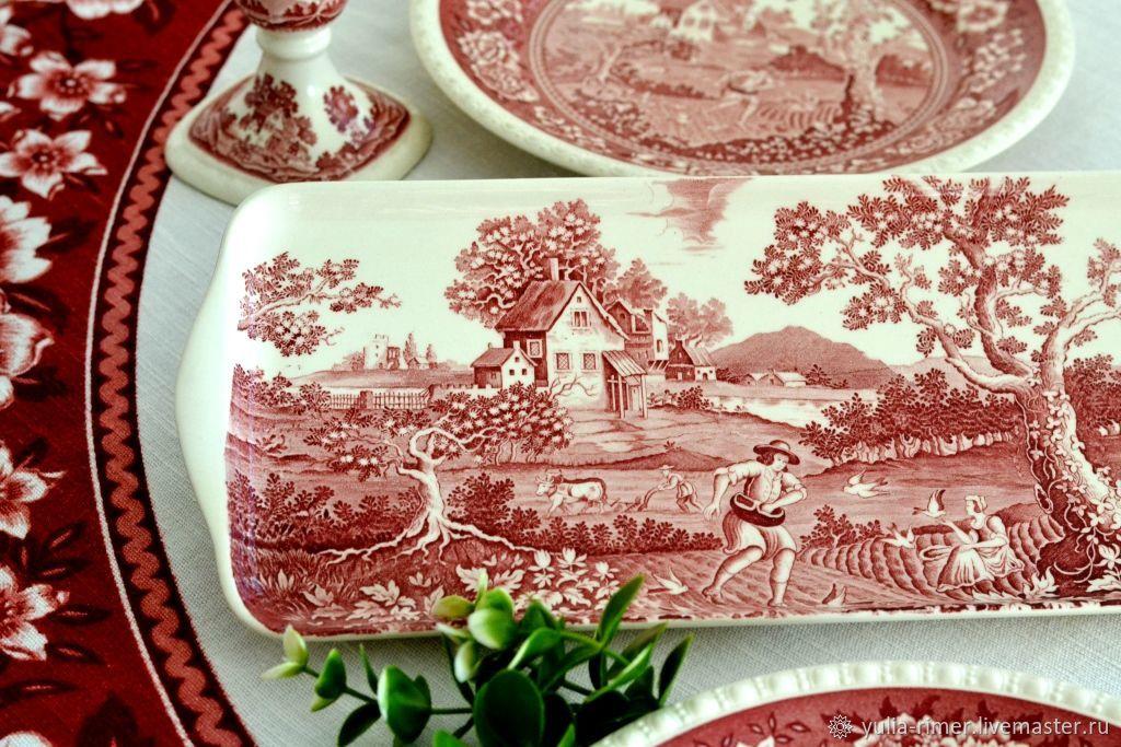 Винтаж: Сервировочное блюдо. Rusticana, VILLEROY&BOCH, 1970 г, Винтажные тарелки, Штутгарт,  Фото №1
